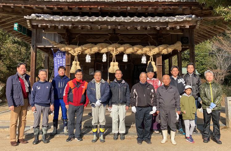 松の植樹の様子3